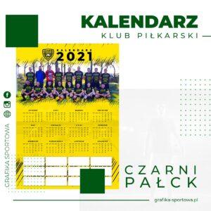 Kalendarz na 2021 dla klubu sportowego