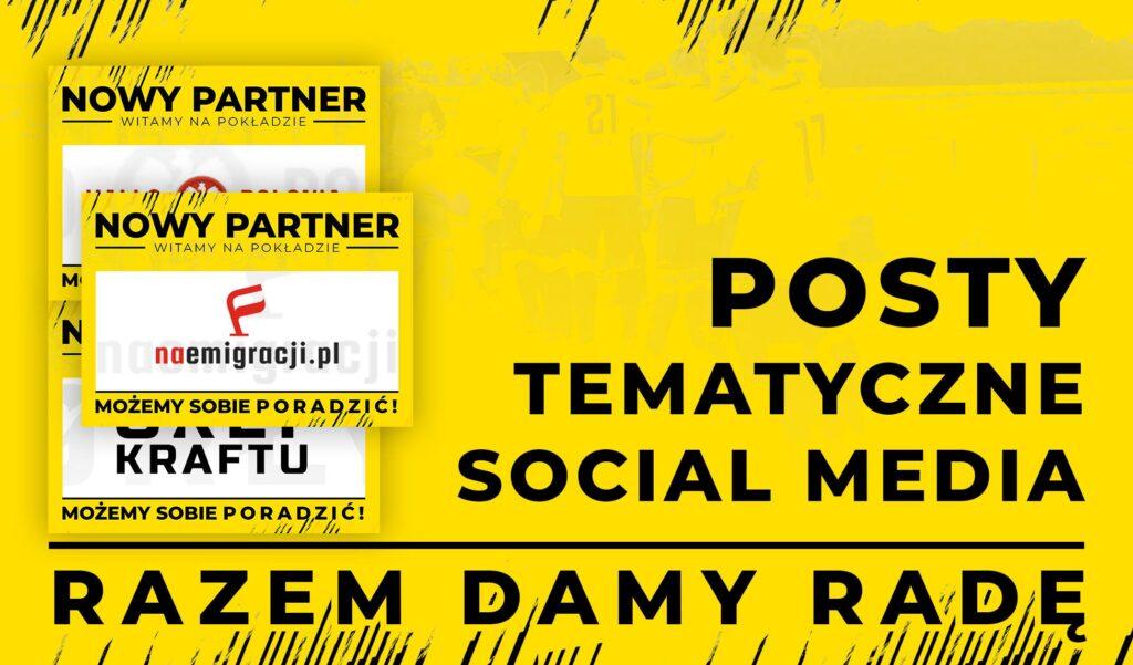 Jak przedstawiać partnerów klubów sportowych w social media